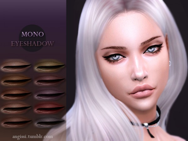 The Sims Resource: Moo eyeshadow by ANGISSI