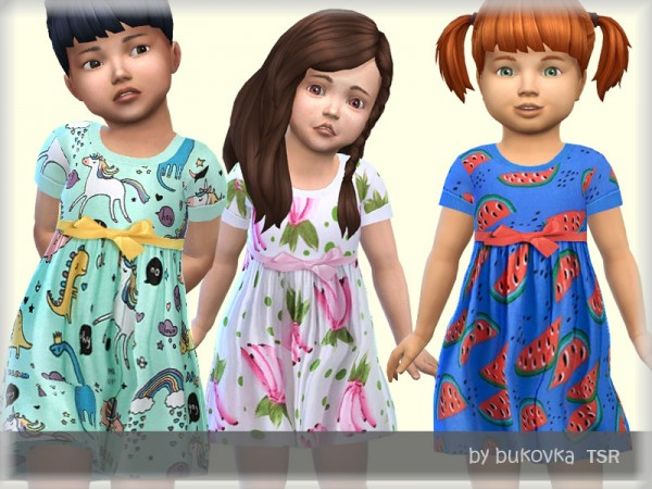 The Sims Resource: Summer Dress by bukovka