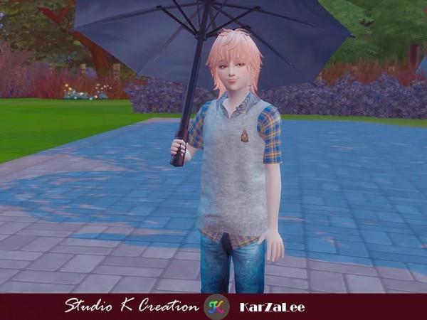 Studio K Creation: Knitted Vest Shirt for child