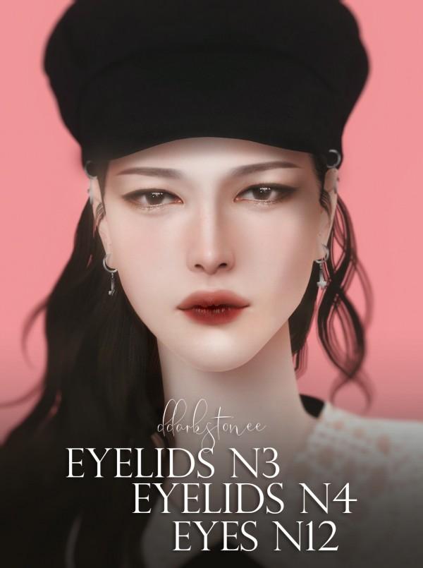 DDarkstonee: Eyelids N4, N12