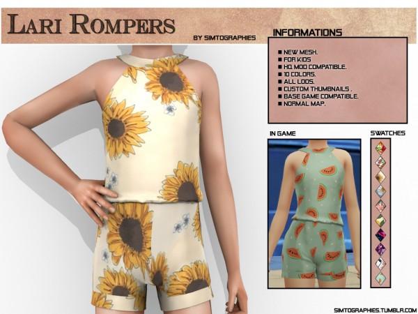 Simtographies: Lari Rompers