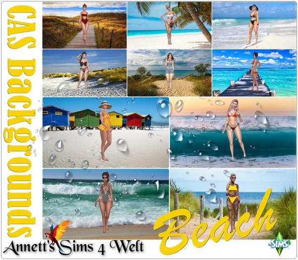 Annett`s Sims 4 Welt: CAS Backgrounds Beach