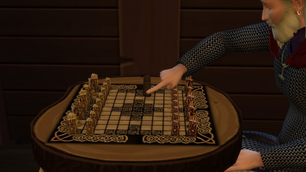 Mod The Sims: Viking Age Hnefatafl by tornadosims
