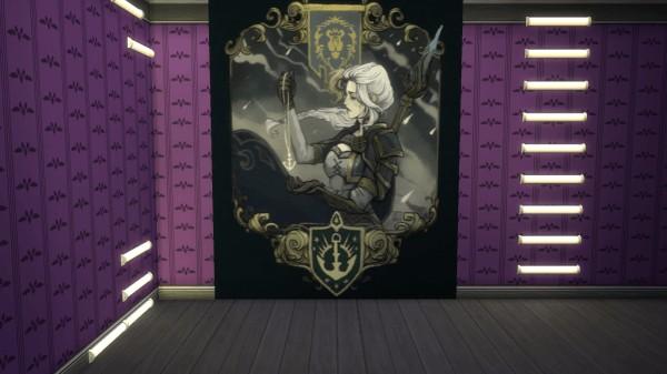 Mod The Sims: World of Warcraft Wallpaper Mural by N.Blightcaller