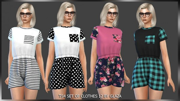All by Glaza: Set of clothes 12