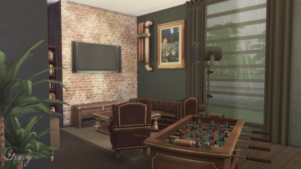 Gravy Sims: Entertainment Room
