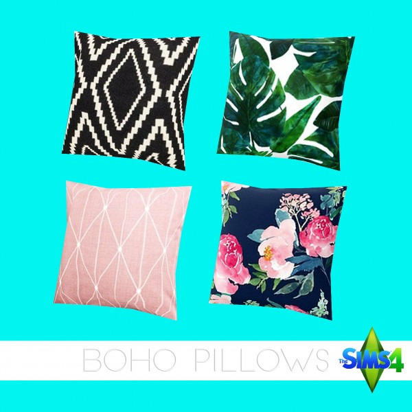 Kenzar Sims: Boho Pillows