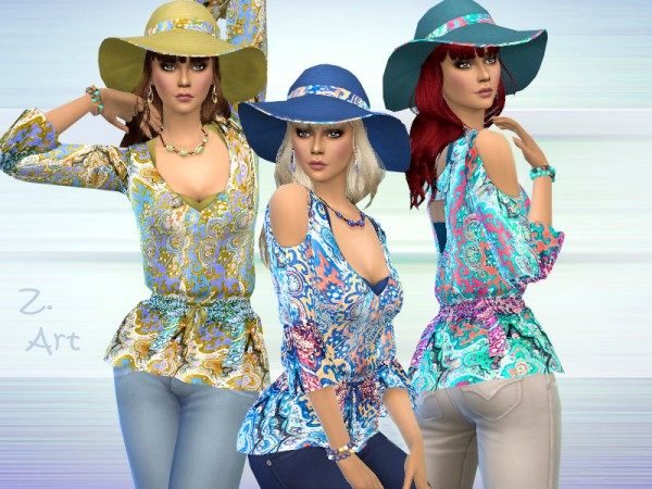 The Sims Resource: Boho 01 Set by Zuckerschnute20