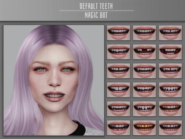 Magic Bot: Default Teeth