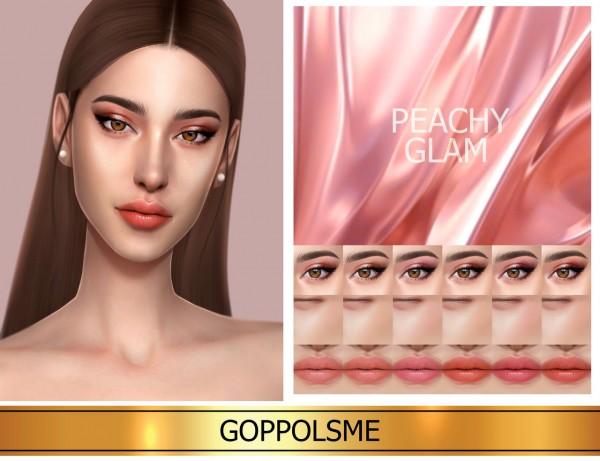 GOPPOLS Me: Peachy Glam Set
