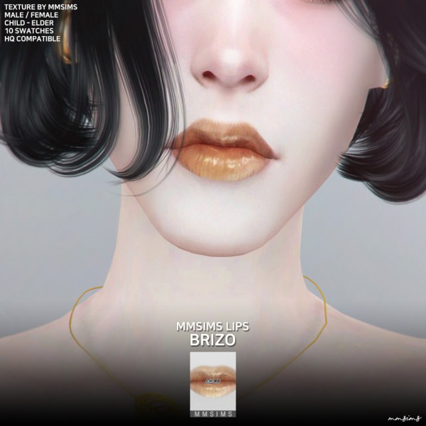 MMSIMS: Lips Brizo Gold