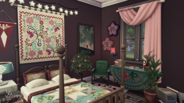 Gravy Sims: Opposite Couple's Bedroom