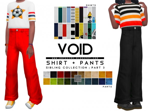 Onyx Sims: Sibling Collection  Part 3   Void