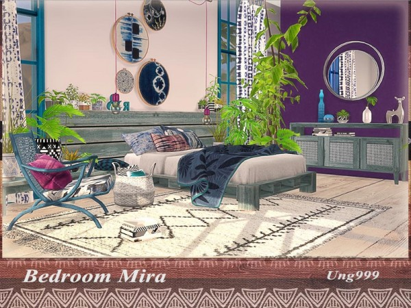 The Sims Resource: Bedroom Mira by ung999