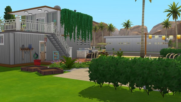 Mod The Sims: Container House CC Free by kiimy 2 Sweet