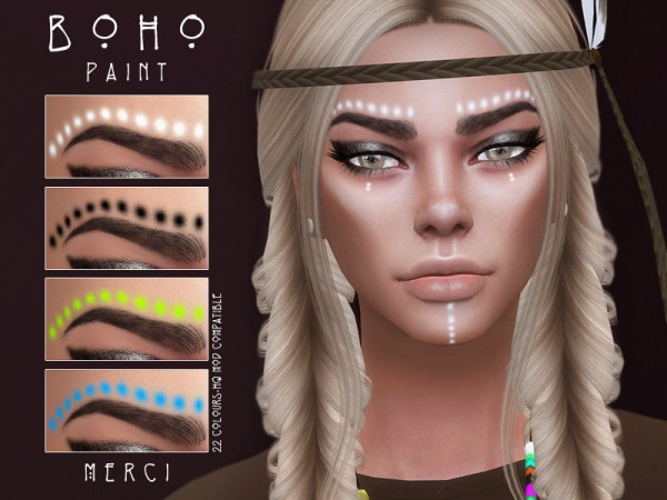 The Sims Resource: Boho Paint  by Merci