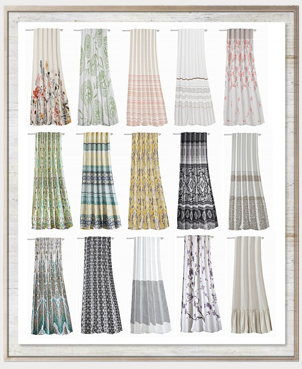Simthing New: Emerson Curtain Recolors