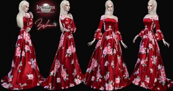 Jom Sims Creations: Zeslaemi Dress