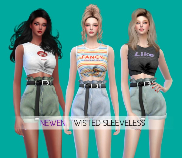 Newen: Twisted Sleeveless