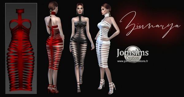 Jom Sims Creations: Ziunarya Dress