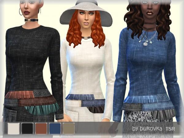 The Sims Resource: Shirt Boho Chic by bukovka