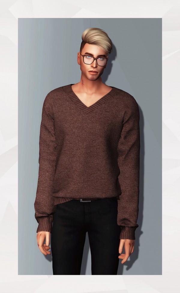 Gorilla: V Neck Sweater