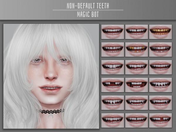 Magic Bot: Non Default Teeth