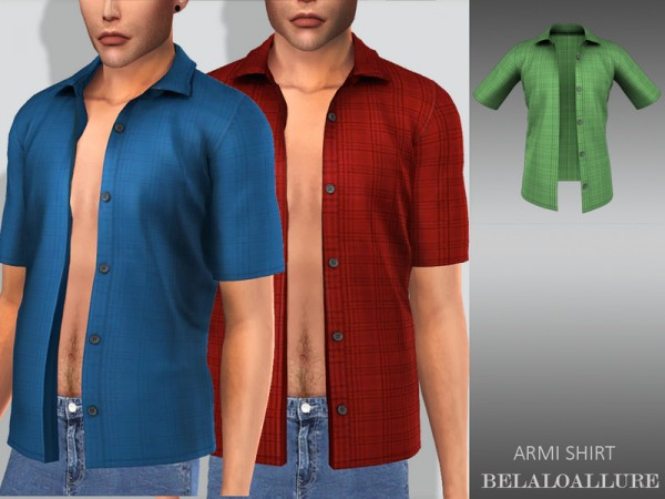 The Sims Resource: Armi shirt by belal1997