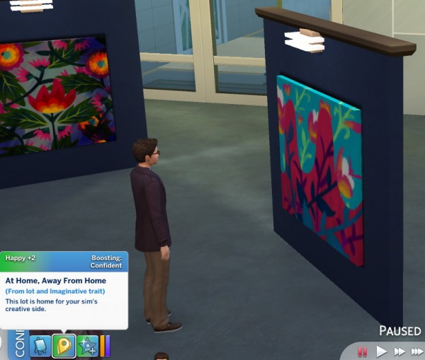 Mod The Sims: Imaginative Trait by GalaxyVic