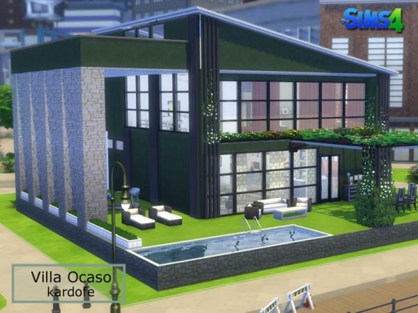 The Sims Resource: Villa Ocaso by kardofe