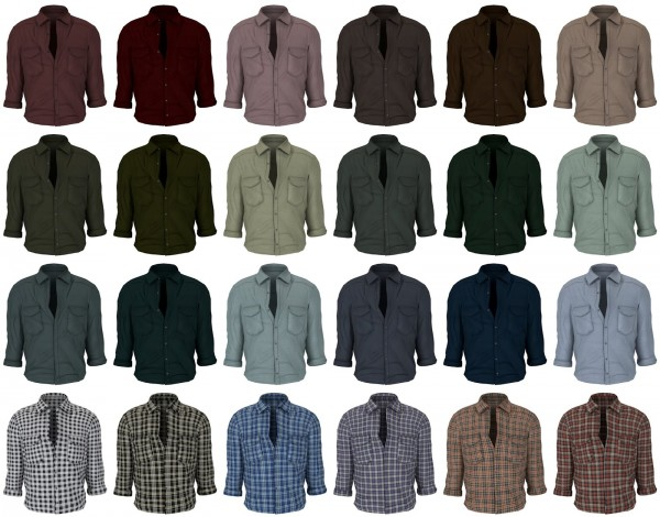 Lazyeyelids: Tucked in shirt
