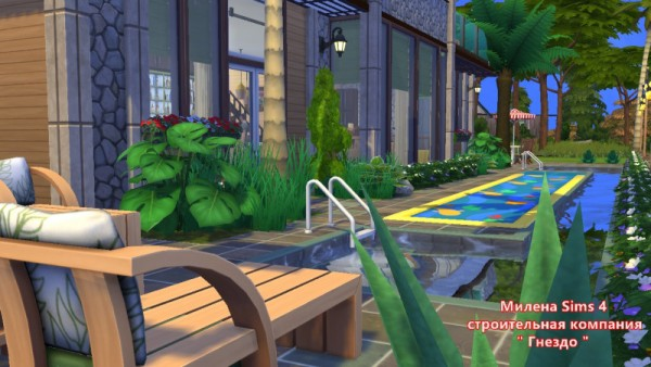 Sims 3 by Mulena: Hotel Parus