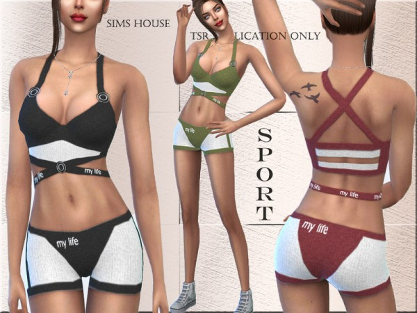 The Sims Resource: Tracksuit My Life by Sims House