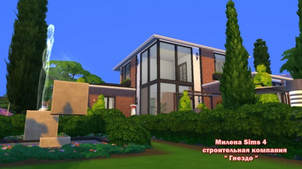 Sims 3 by Mulena: Modern house Square