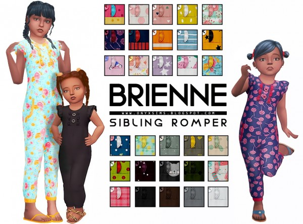 Onyx Sims: Brienne   Sibling Set