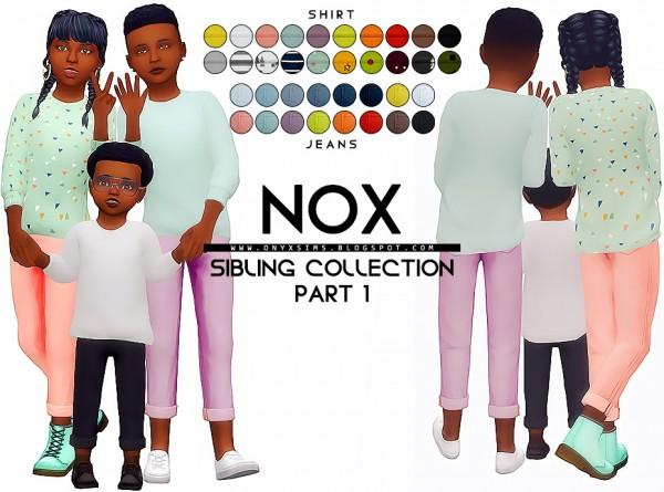 Onyx Sims: Nox Sibling Set part 1