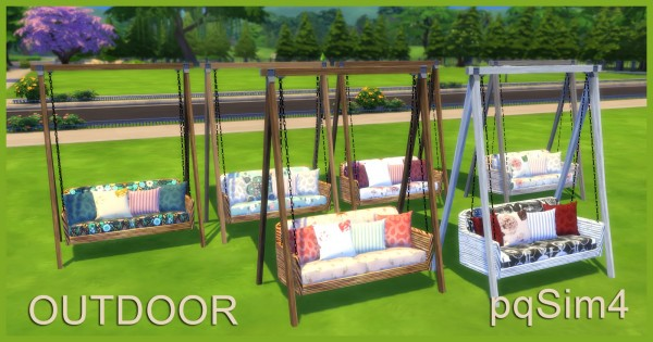 PQSims4: Outdoor Sofa