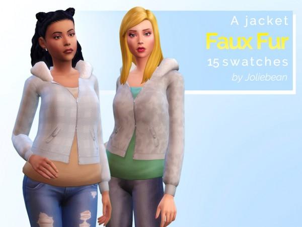 Joliebean: Faux Fur jacket