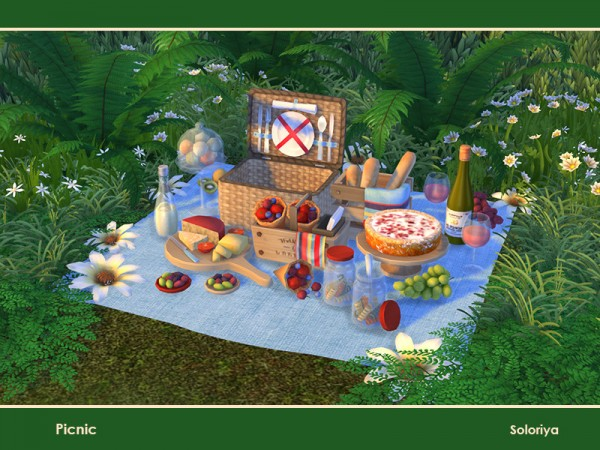 The Sims Resource: Picnic by soloriya
