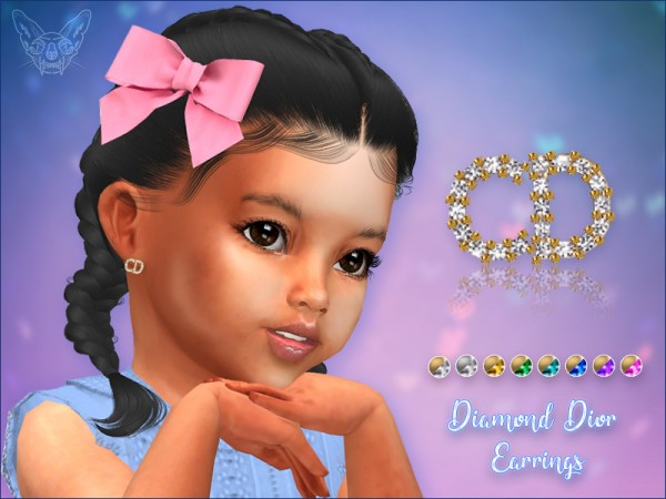 Giulietta Sims: Earring Studs For Toddlers