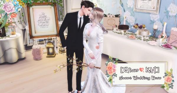 Qian: Sweet Wedding poses