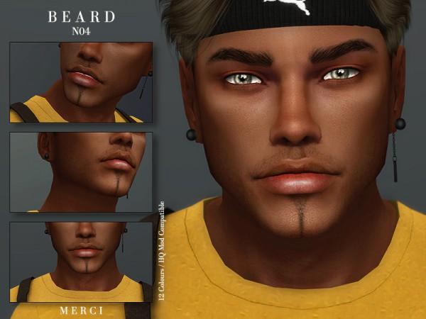 The Sims Resource: Beard N04 by Merci
