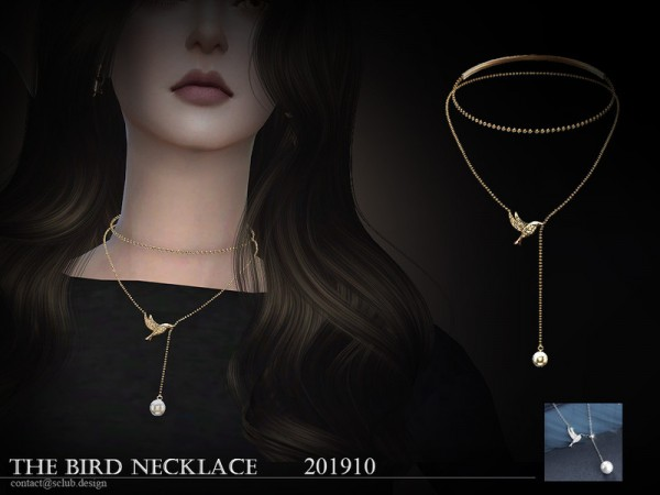 The Sims Resource: Necklace 201910 by S Club