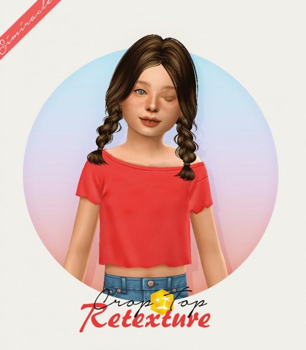 Simiracle: Crop Top   Retexture   Kids Version