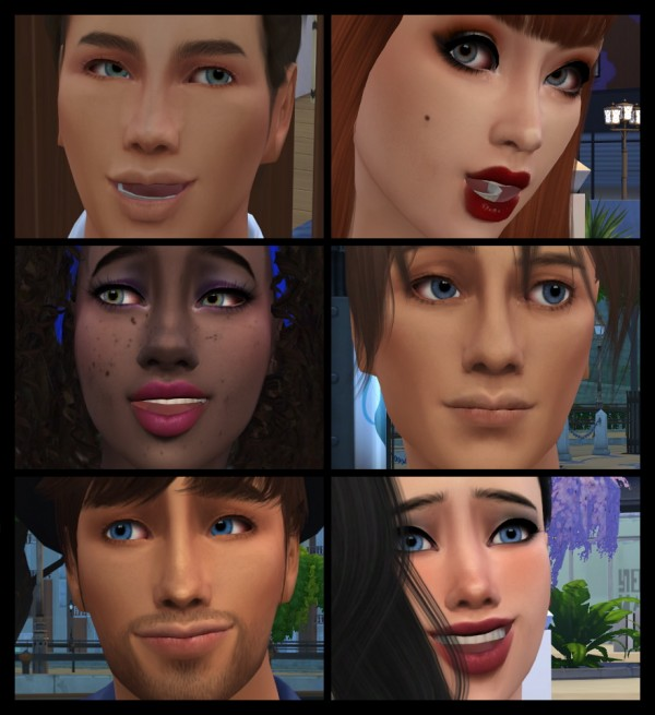 Mod The Sims: Starlet Eyes by copperIIsulfate
