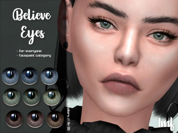 The Sims Resource: Believe Eyes N.95 by IzzieMcFire