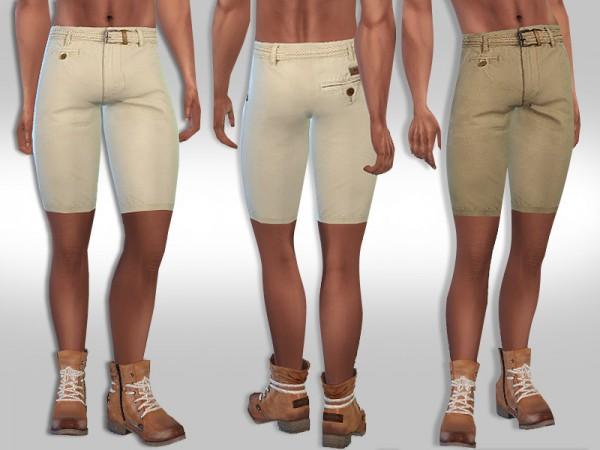 The Sims Resource: Adventurer Shorts by Saliwa