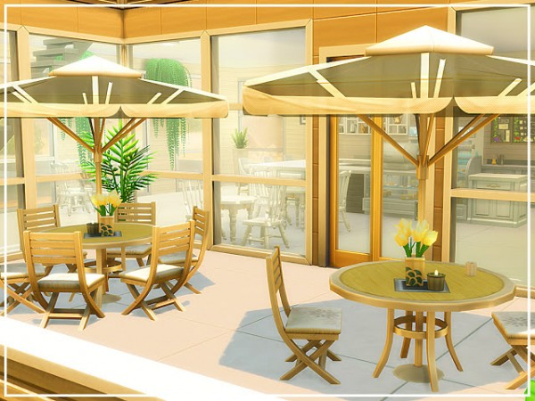 MSQ Sims: Oasis Modern Cafe