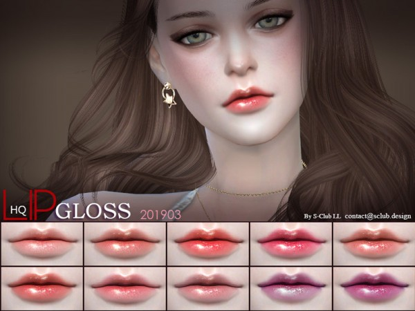 The Sims Resource: Lipstick 201903 by S Club