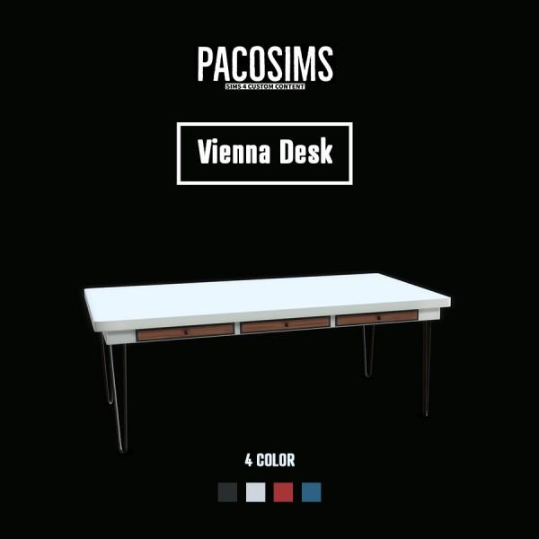 Paco Sims: Vienna Desk